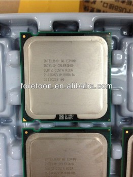 Intel Used/pulls CPU E3400