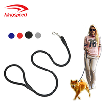 Amazon Fashion Pet Products Durable Adjustable Lightweight Nylon Rope Dog Leash