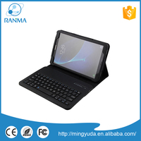 10.1 inch leather protective bluetooth keyboard case,tablet flip cover with stand