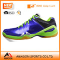 2017 professional badminton shoes indoor sports power cushion ergo shape tennis shoes wholesale OEM factory Ab3205