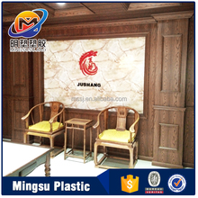 Wholesale cheap fire resistant pvc interior decorative interior wall panels for hotel,Bar, KTV goods from china