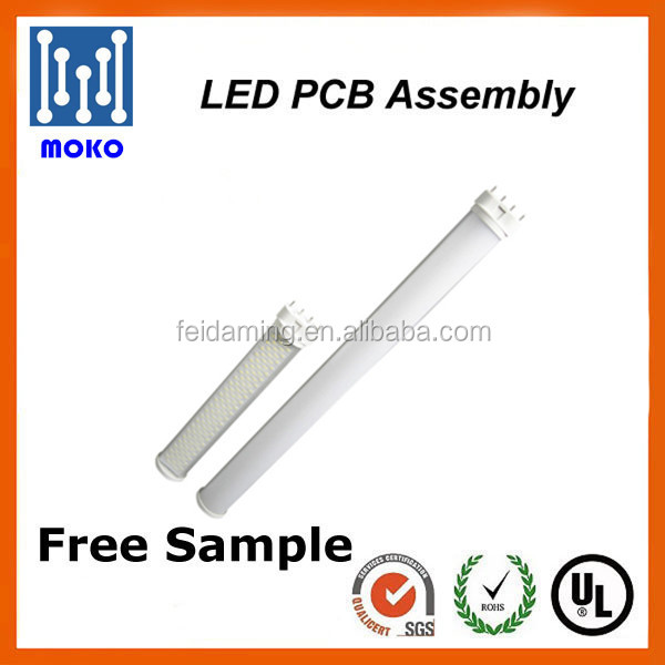 High brightness energy efficiency 18w led 2g11 with super long lifespan 2g11 led pcb