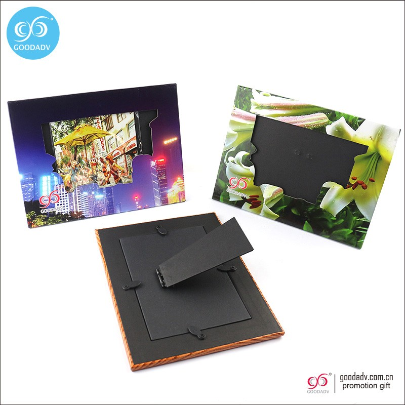 Hot sell product handmade stand paper picture frame insert paper photo frame