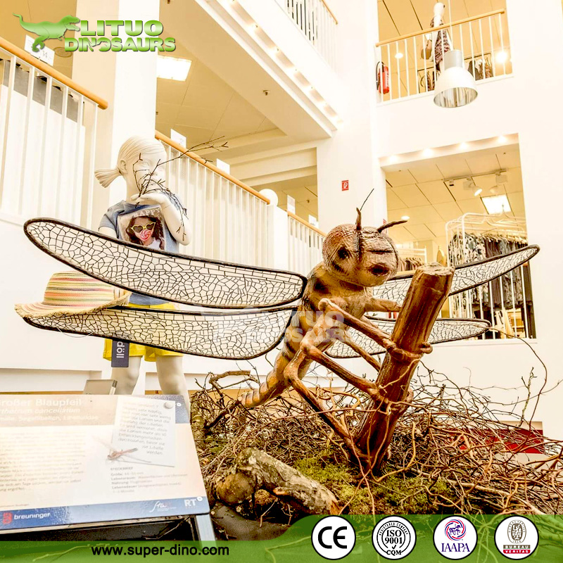 Animatronic Big Size Simulation Insect of Dragonfly