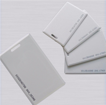 High quality Parking system RFID T5577 Clam Shell Cards