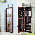 Cheap price wall mount jewellery mirror cabinet on alibaba