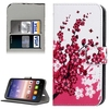 OEM Service Factory Price Flip Stand Leather Wallet Case for Huawei Y625 Cover