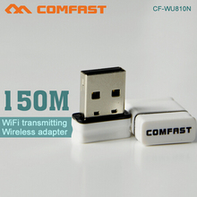 The Best Quality 150Mbps Wireless WIFI Dongle COMFAST CF-WU810N Support Soft AP Usb Wireless Adapter For Android