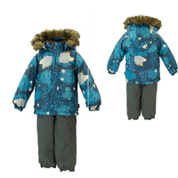 designed Infant baby overall baby clothing winter snowsuit