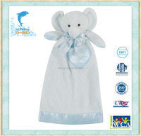 Stuffed&Plush baby security blanket baby soft blanket cute Elephant blanket