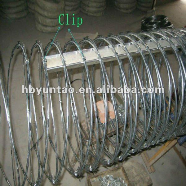 Best selling Concertina Razor Barbed Wire with Direct Factory