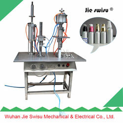 factory price blue feeling perfume filling machine