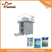 Milk aseptic plastic pouch filling machine/milk machine