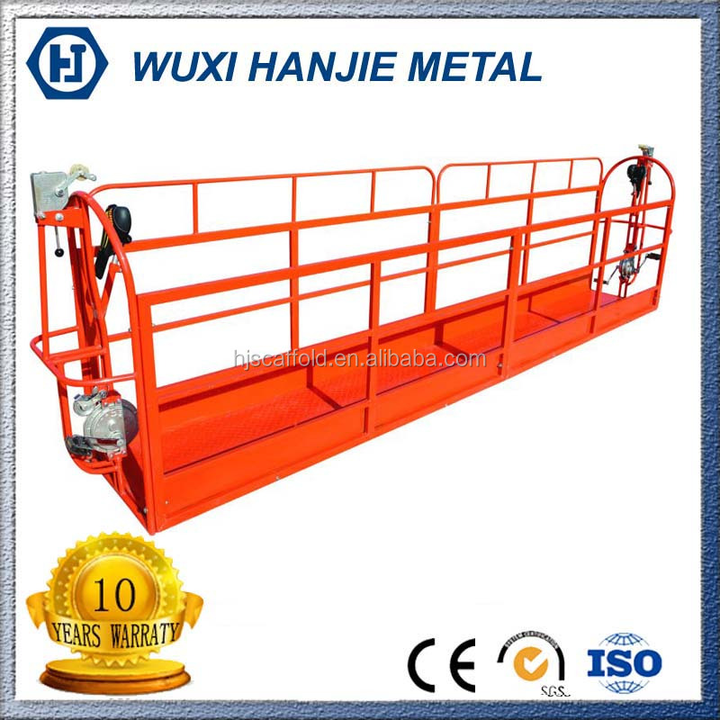 OEM Manufacturer Rope Suspended Working Platform