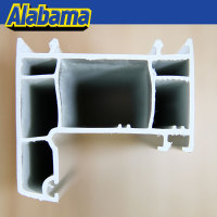 alibaba china plastic profile for vinyl upvc window, plastic trim