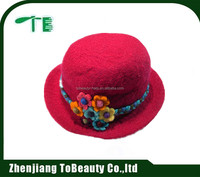 ladies leisure stylish felt hat