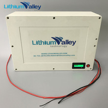 Deep cycle 12V 40AH lithium ion battery for solar use