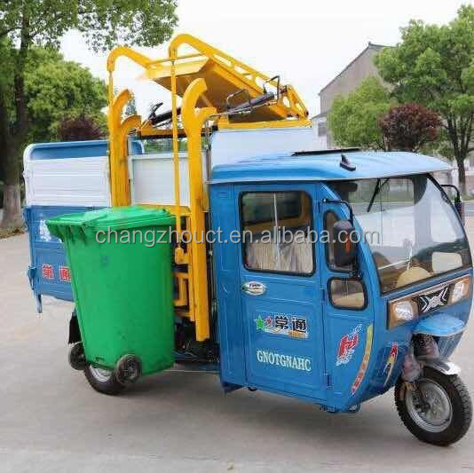 electric tricycle three wheel sanitation vehicle