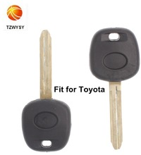 the best price transponder car key shell for Toyota chip key