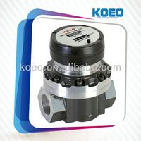 2014 Hot-Sale Liquid Flow Metering Gauge,Oval Gear Flow Meter