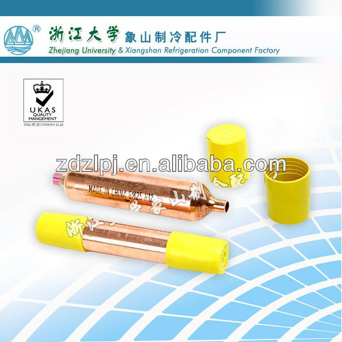 common type copper filter drier refrigeration part