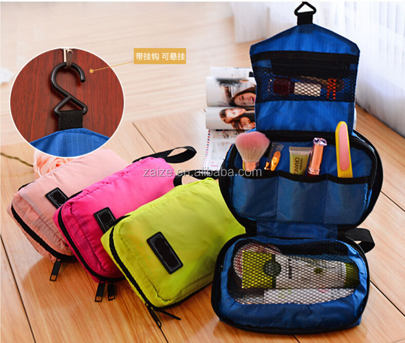 Travel Hanging Makeup Toiletry Bag Wash Organizer