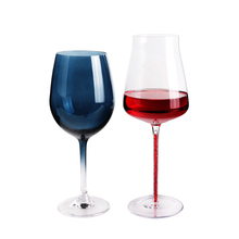 <strong>W164</strong> Top Sale Factory Price Customization Rainbow Wine Glass
