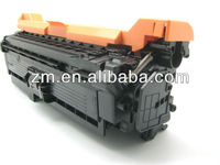 new compatible CE403 M toner cartridge chip for HP Laserjet Enterprise 500