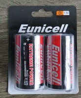 Super Carbon zinc R20 D size heavy duty dry batteries
