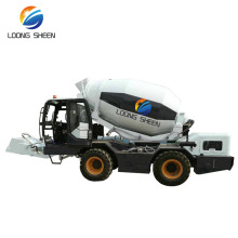Diagram of Concrete Cement Mixer Truck 2.6 M3 3 CBM