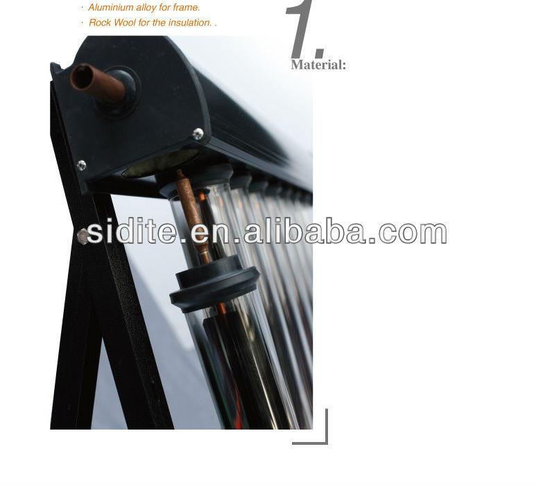 Low Cost High Pressure Blue Tinox PVC Pipe Polymer Solar Collector