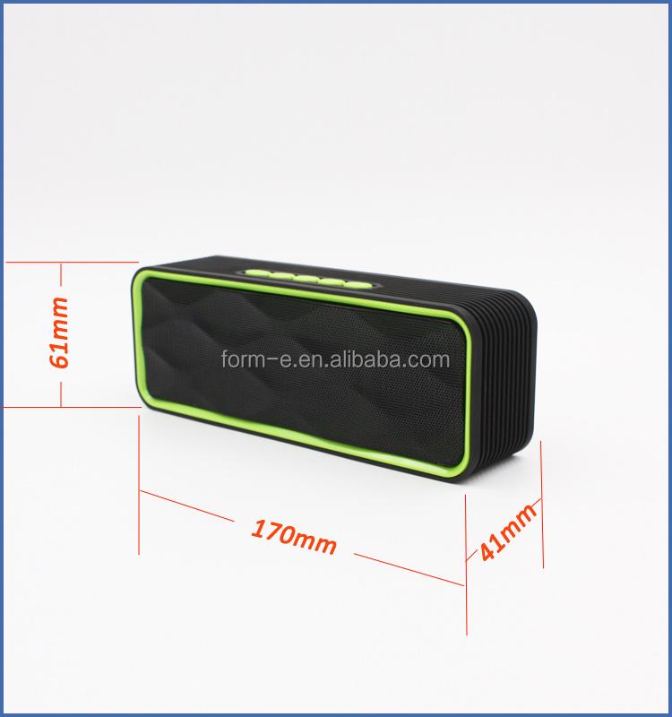 최고의 2.0 E300 스테레오 사운드 스피커 휴대용 미니 이길 데스크탑 블루투스 핸즈프리 자동차 키트 증폭 스피커 전화 귀여운 선물