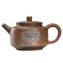 300ml Hot New Design Product Wholesale Oriental Peony Teapot