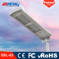 Led Solar Powered Column Lights Garden With Motion Sensor