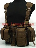 Loveslf NEW wholesale military tactical vest assault airsoft molle vest ammo chest paintball body armor harness