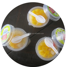 Fresh Fruit CupsCanned mixed fruit cup 4oz&8oz canned fruit cocktail in plastic cup