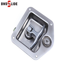 SS304 adjustable T truck toolbox door safety latches types handle paddle lock