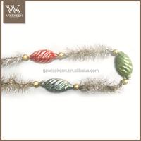 Artificial decorative christmas garland