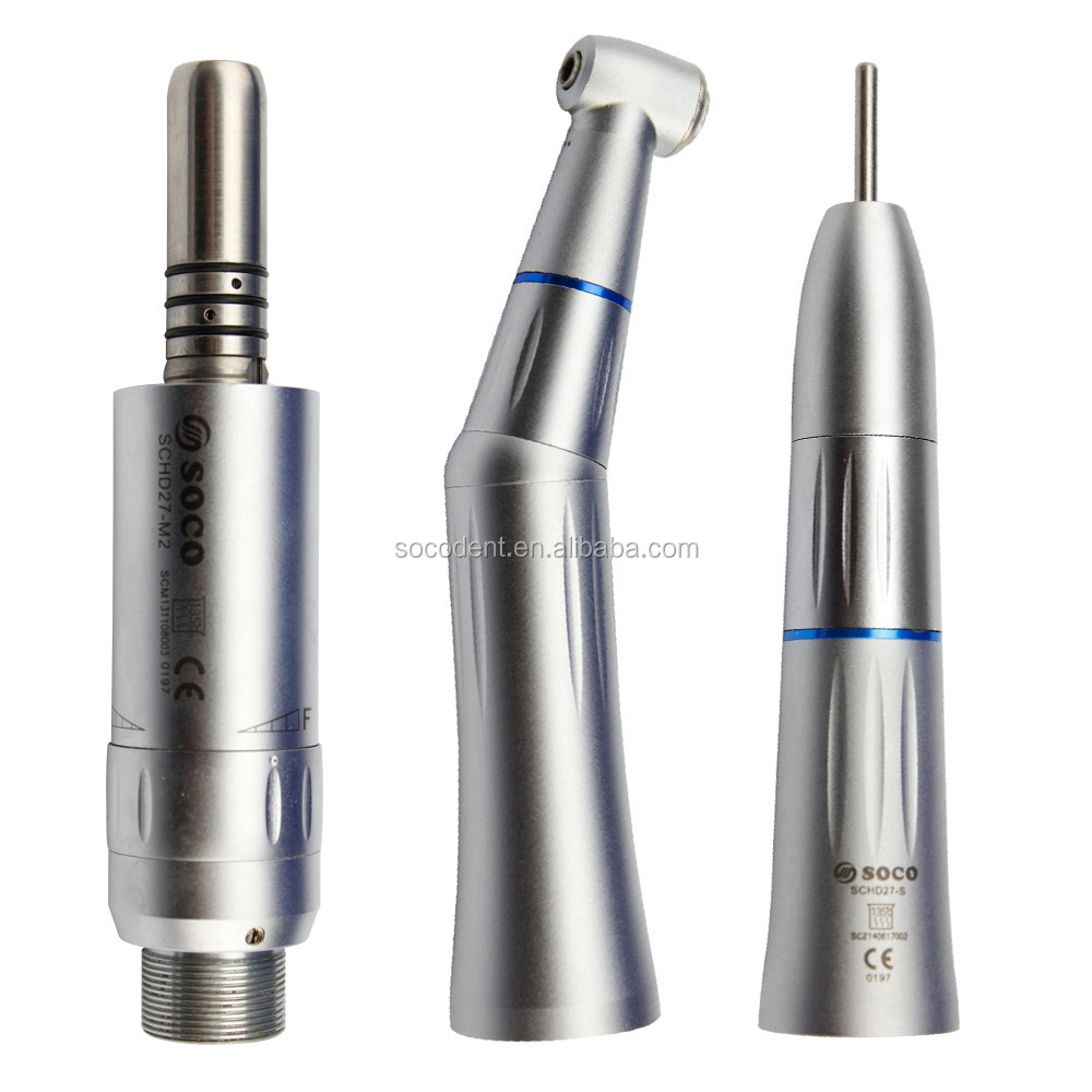SOCO low speed inner channel handpiece kit push button 2 hole D27-K2 high quality popular