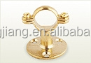 Brass Long Stem and Short stem pipe clamp wall bracket pipe clips