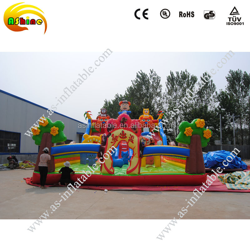 Commercial inflatable bouncy castle wholesale