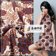 Competitive price wholesale 100% polyester printed silk chiffon fabric