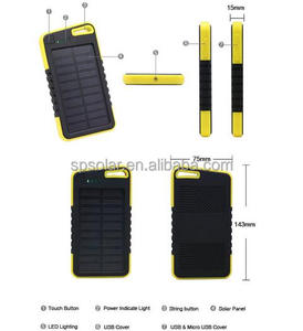 4000mah Oval round shape solar best mobile portable power bank solar battery