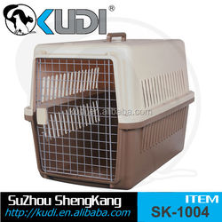 High quality dog cage with wheels