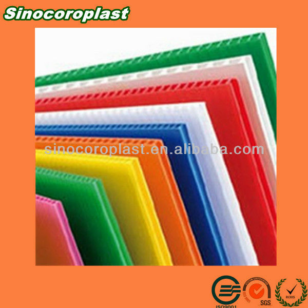 Recyclable Conductive Corrugated Plastic Wall Panels
