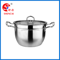 Business industrial Stainless steel cookware set/ kitchen casserole /stock pot set