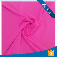 high quality poly cotton twill spandex simple fabric