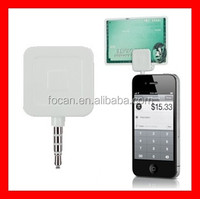 the Square Credit Card Reader for mobilephone iPhones, iPods, iPads and Android OS devices