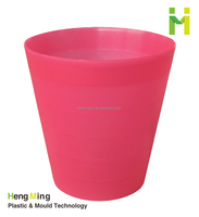 12L indoor fashion plastic trash can