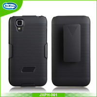 Popular mobile celular case comb holster for Lanix S130 with low MOQ